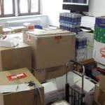 M&C 2011: Vorbereitungen (Anlieferung)